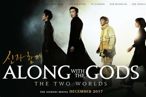 along with the gods korean drama drama adaptation of along with the gods the two worlds