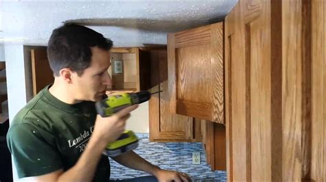 installing kitchen cabinets youtube how to install cabinet hardware youtube