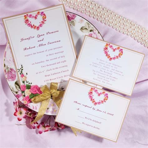 wedding card vector stock vector image of background