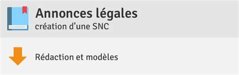 Modèle Statuts Snc
