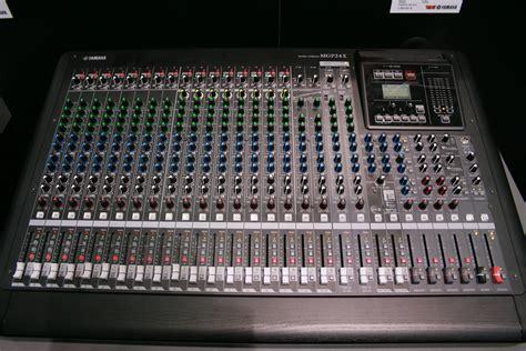 Mixer Yamaha Im 8 24 yamaha mgp24x image 589748 audiofanzine
