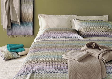 missoni bed linen missoni home embroidered duvet covers bedding