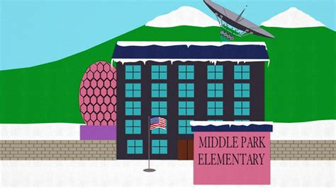 south park middle school homepage