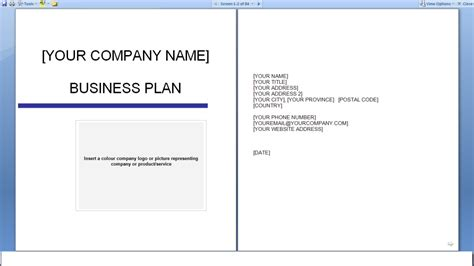 free business plan template business plan free invoice rq