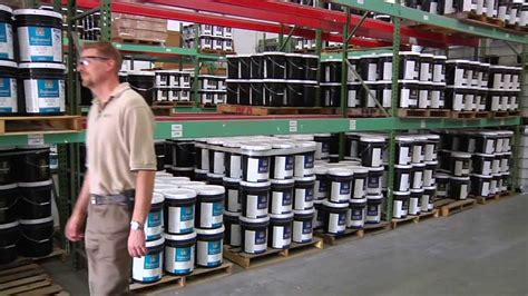 paint companies hirshfield s paint manufacturing tour youtube