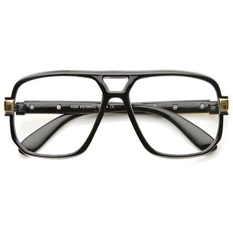 Square Lens Glasses classic square frame plastic clear lens aviator glasses ebay