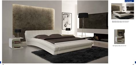 Modern Contemporary Bedroom Furniture Bedroom Furniture Modern Bedrooms White Bed Nightstands Decobizz