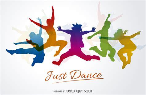 clipart vettoriali gratis sagome ballerini silhouettes vettoriali gratis
