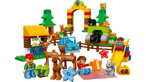speelgoed lego 10584 forest park lego duplo products and sets lego