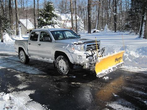 Snow Plow For Toyota Tacoma Snow Plow Tacoma World