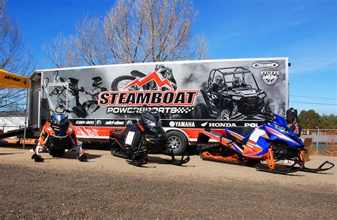steamboat powersports arcticfx trailer and vehicle wraps image gallery
