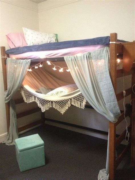 hanging loft bed best 25 hammock bed ideas on pinterest hanging beds