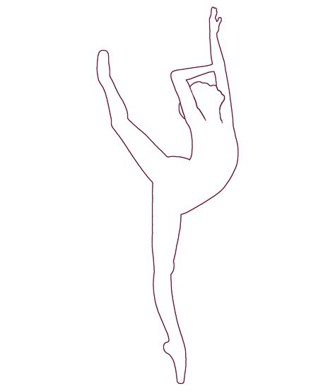 Dancer Outline by Dancer Outline Images Search