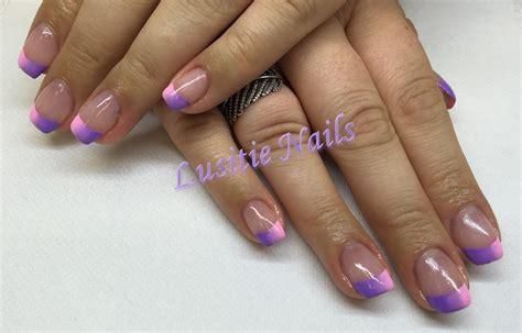 Modele Ongle Gel Violet by Pose Au Gel