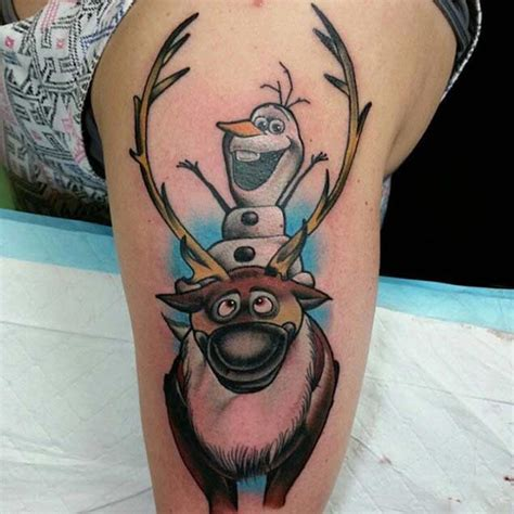 olaf tattoo best 25 frozen ideas on snowflake