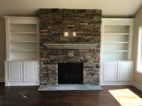 fireplace stacked stacked fireplace with a flagstone mantle and custom