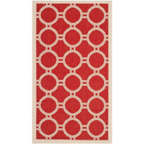 outdoor rug lowes safavieh cy6918 248 courtyard indoor outdoor area rug bone lowe s canada safavieh courtyard bone 2 ft 7 in x 5 ft indoor outdoor area rug cy6924 248 3 the home