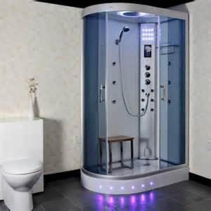 insignia gt5000w 1200 x 800mm offset steam shower cabin