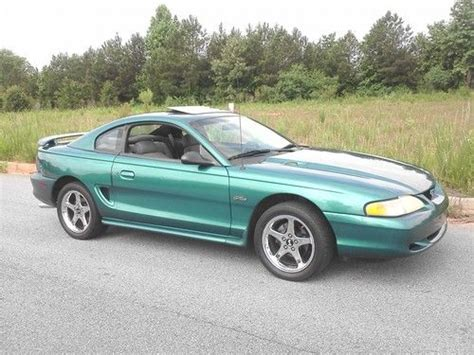 1996 mustang coupe purchase used 1996 ford mustang gt coupe 2 door 4 6l in