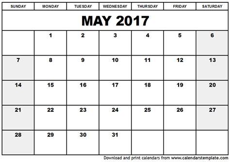plain calendar template blank calendar template 2017 cyberuse