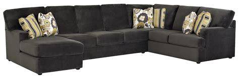 couch with chaise on left side sectional sofa with left side chaise by klaussner wolf