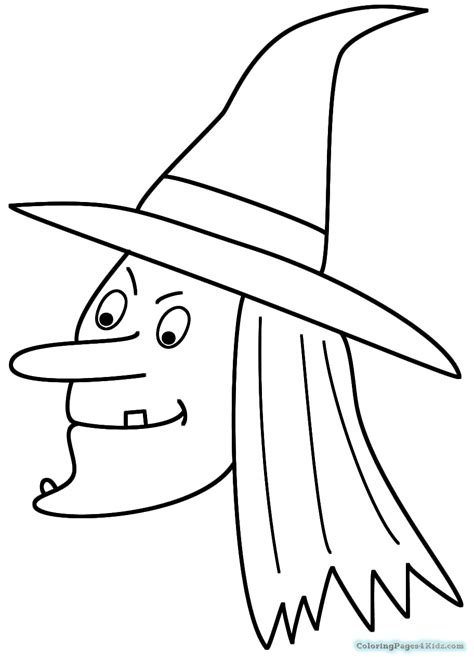 cute witch coloring pages cute kids halloween witch coloring pages coloring pages