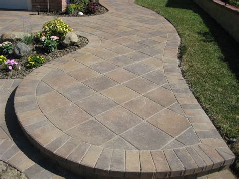 backyard with pavers paver patterns the top 5 patio pavers design ideas