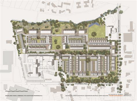 layout and density of building accordia masterplan alison brooks architects
