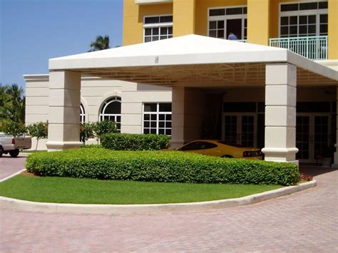 awnings miami fl entrance awning porte cocheres miami awning