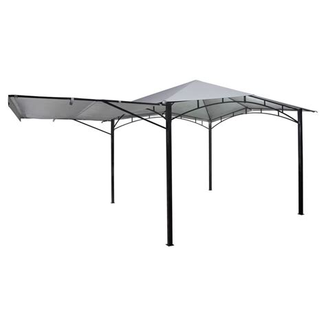 gazebo masters terra metal gazebo with awning 3x3m masters home