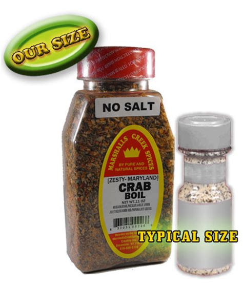 crab boil seasoning no salt ebay