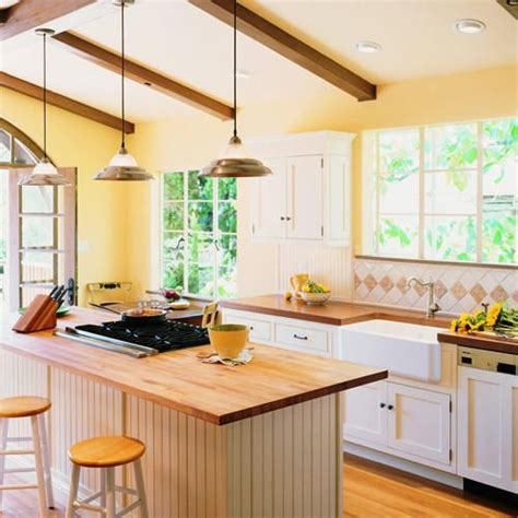 Bright Kitchen Lighting Ideas | airy and bright kitchen makeover