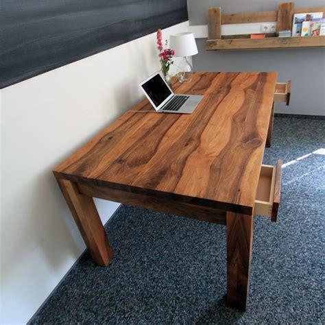 Schreibtisch Hoch by Schreibtisch Und Esstisch Holzgesp 252 R
