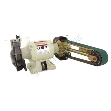 bench grinder attachment 1 hp jet 8 quot grinder w 4 x 36 quot belt multitool attachment