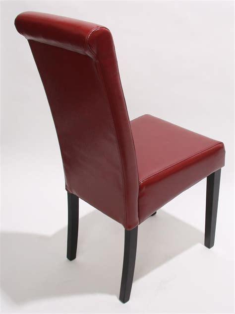 rote esszimmerstühle k 252 chenstuhl rot leder bestseller shop f 252 r m 246 bel und
