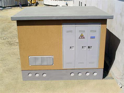 cabina enel prefabbricata cabine elettriche prefabbricate trasformazione enel