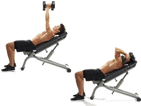 flat bench tricep extension 3 killer moves for well defined horseshoe triceps
