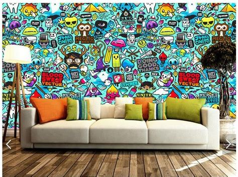 keren  wallpaper dinding  bergerak