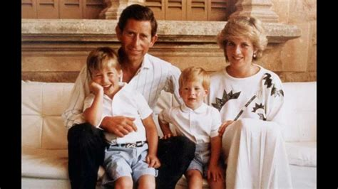 princess diana s children the joke by prince charles after harry s birth that broke