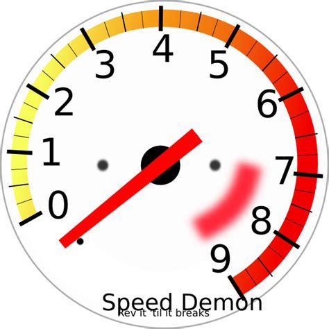 Meter Rpm tachometer clip at clker vector clip