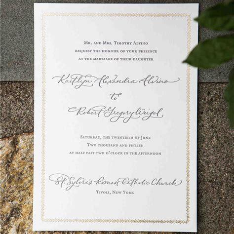 how to make wedding invitations martha stewart wedding etiquette advice martha stewart weddings