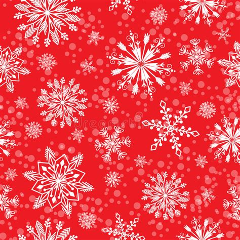 christmas pattern repeat snowflake vector seamless pattern weather traditional