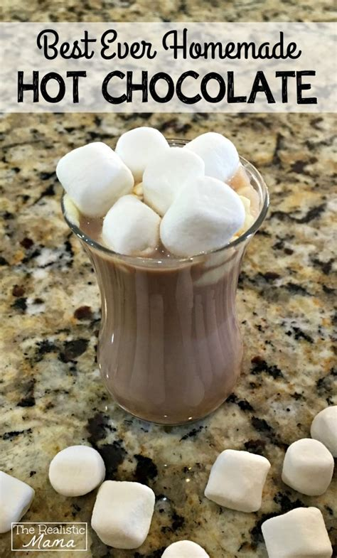 best ever hot chocolate recipe dishmaps