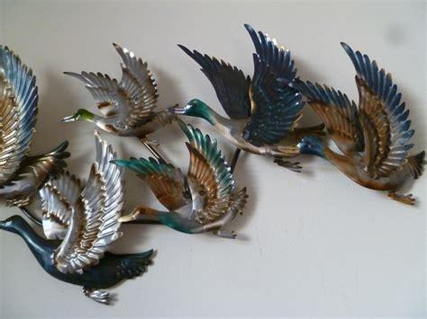 wanddecoratie dieren wanddecoratie vliegende eenden dieren wanddecoratie metaal