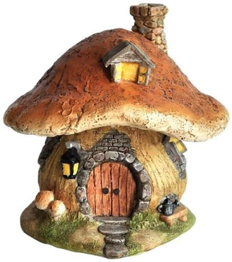 buy fairy houses buy top collection miniature fairy garden and terrarium mushroom fairy house statue in