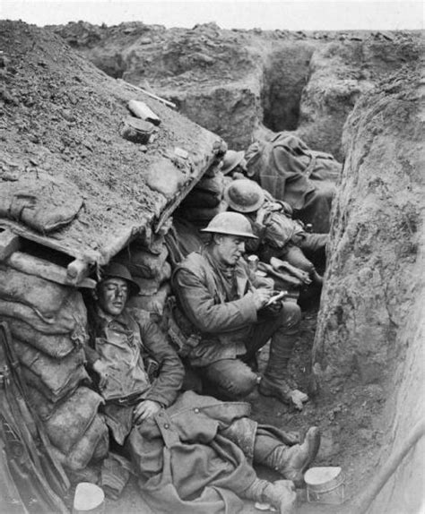 In The Trenches by Stained Notes Stories Of A Canadian Soldier In Wwi
