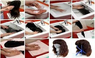 is it ok to wash your hair before coloring it the wig care guide learn how to wash your human