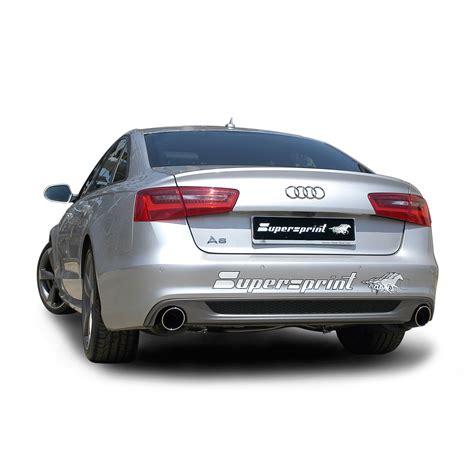 Audi A6 Auspuff by Audi A6 C7 4g Sedan Avant Quattro 3 0 Tfsi V6 300 Hp