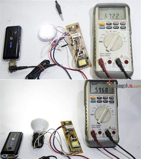 membuat powerbank dari baterai lu emergency menganti lu emergency dengan lu led