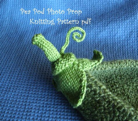 knitting pattern photography pea pod photo prop knitting pattern for newborn